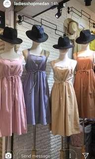 Ladiesshopmedan Dress NUDE