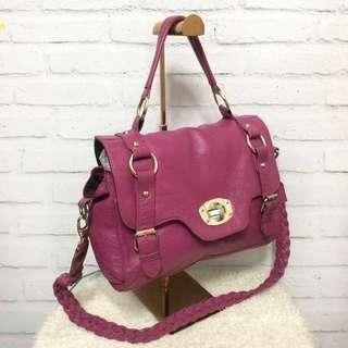 mulberry inspired leather 2 way