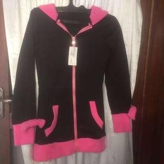 Import hoodie Black Pink Bunny