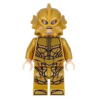 Lego DC Super Heroes - Atlantean Guard Angry Expression 76085 Minifigure new