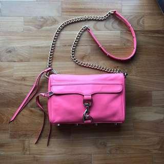 Rebecca Minkoff Mini MAC Crossbody Sling Bag Pouch