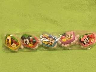 米奇家族食物造型餐盒 米奇 米妮 布魯托 唐老鴨 黛西