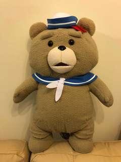 水手ted 賤熊公仔超大size