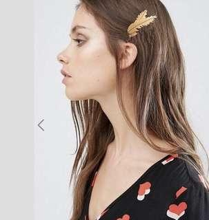 🚚 [BUY2GET1FREE]Vintage Feather Hair Clip