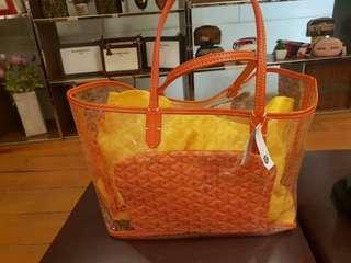 Goyard Transparant Bag