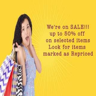 Check out our on Sale Items