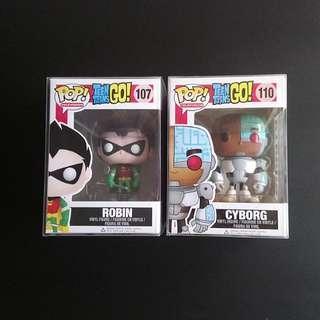 Robin Cyborg Teen Titans OG