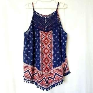 """No Boundaries"" Boho Large Top"