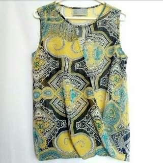 Paisley Criss Cross Top