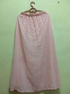 #H&M50 PINK Chiffon Skirt