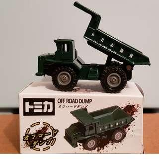 Tomica No. F22 Off Road Dump Truck from Tomica 3D Map Series