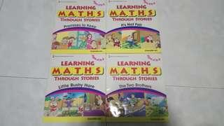 Learning math through stories