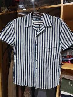 BUTTON DOWN STRIPE POLO