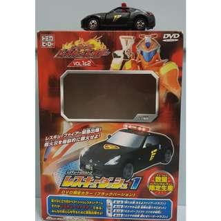 Tomica Hero Rescue Series No. 55 Nissan Fairlady Z 2008 Black (No DVD)