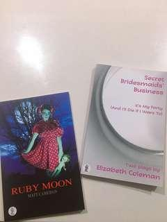 Drama/ theatre play script: Ruby Moon & Secret Bridesmaids' business