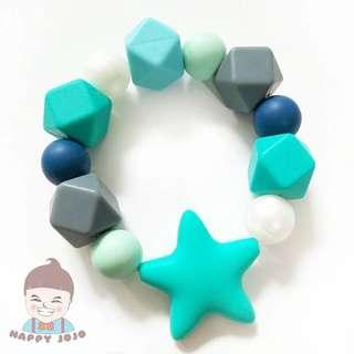 Baby teether Star