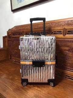 Counter Quality Fendi X Rimowa 33L 55 x 40 x 20 cm Cabin Size Luggage