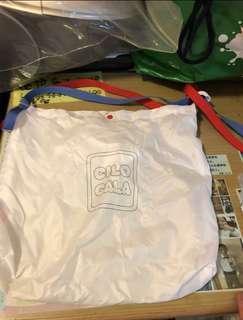 CILO CALA 別緻版白色環保袋 b