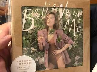100%全新未拆 鄭秀文 SAMMI CHENG 2018 最新專輯 BELIEVE IN MI 3CD SIDE TRACK 新曲加精選