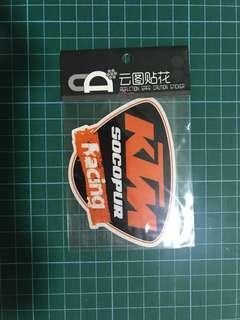 Reflective / Waterproof Sticker Decal (BNIP) [KTM]