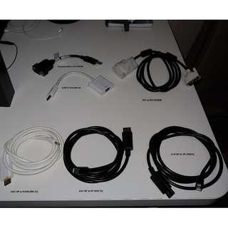 Monitor Converters and Cables
