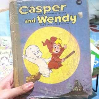 CASPER AND WENDY IMPORT BOOK