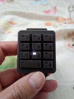 Click keypad watch seiko citizen casio g-shock