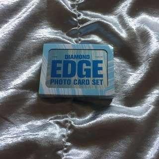 Seventeen 2017 Official Diamond Edge Photo Card Set