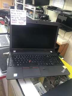 Lenovo thinkpad e560 like new :) 14 inch laptop  Intel i5-6200  6th gen 256 Gb Ssd  win 10 / office installed  normal price $900 now  super cheap offer $699