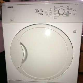 Great BEKO laundry clothes dryer