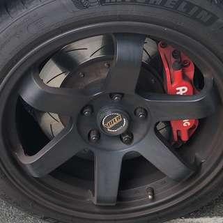 Ap racing brake kit - CP5200