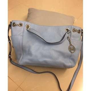 Michael Kors Jet Set Chain Leather Bag