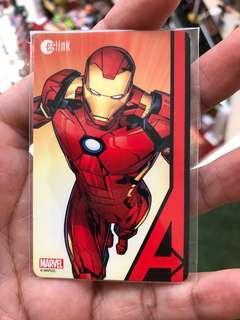 $80 Value Marvel Iron Man Ez Link
