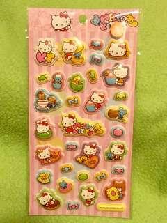 Hello Kitty Sanrio 立體貼紙
