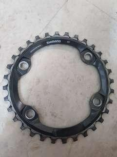 Shimano 32T Chainring for MTB