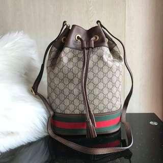 Gucci Ophidia GG Bucket Bag