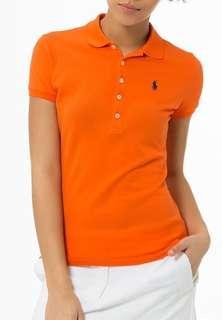 Ralph Lauren Polo Shirt in Orange