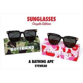 Bape Couple Edition Limited Edition Sunglasses