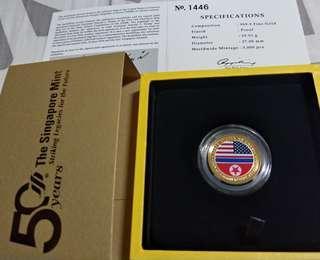 Medallion US Summit coin 12.6.18