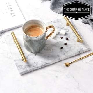 *Hari Raya Sale* Nordic Grey Marble Tray Home Decor Plate