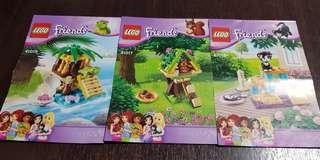 41017 to 41019 lego friends (complete)