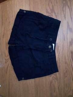 Reitmans Navy Shorts, Size 7