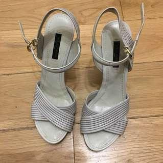 🈹Louis Vuitton high heels shoes LV sandals 36.5