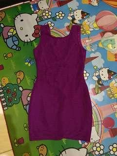 Mini Dress Purple - Forever21