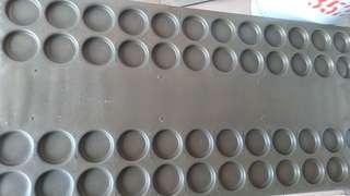 48孔不繡鋼紅豆餅爐