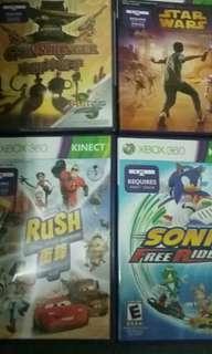 Xbox360 kids Kinect games