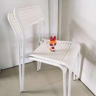 IKEA 白色 椅子 兩張