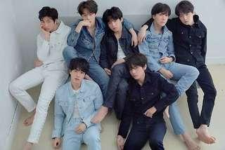 [FREE NM] BTS LOVE YOURSELF TEAR R VERSION POSTER FOLDED