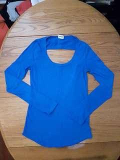 Long-sleeved PINK shirt, XS