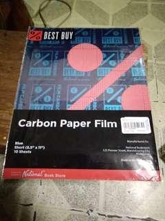 Carbon Paper Film (blue)